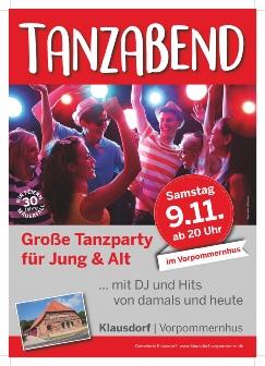 Tanzabend im Vorpommernhus09.11.