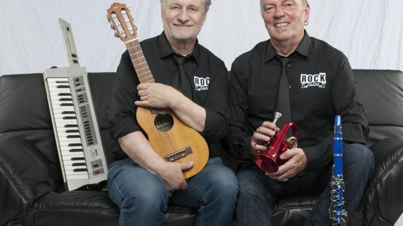 Jürgen Rau und Richard Rossbach im Vorpommernhus23.09.